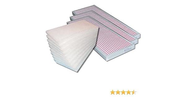 Juego de filtros Viessmann vitovent 300 W (300/400 M³/h) 10 x G4 Matte, 3 x F7 Polen Filtro ventilación: Amazon.es: Bricolaje y herramientas