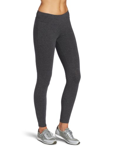 Spalding Women's Ankle Legging, Charcoal Heather, Medium