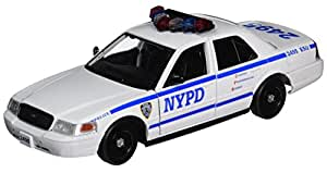 Daron NYPD Ford Crown Victoria Diecast Vehicle 1/24-Scale