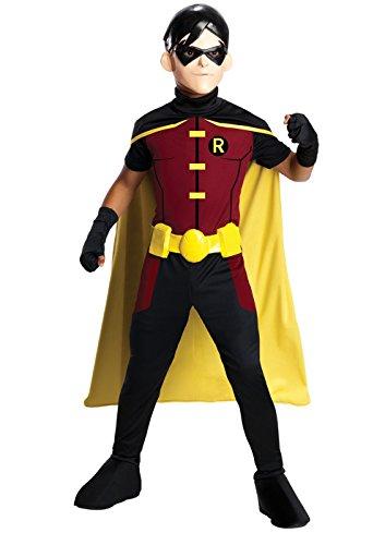 [Rubie's Costume Young Justice Robin Child Costume, Medium] (Kids Batman And Robin Costumes)