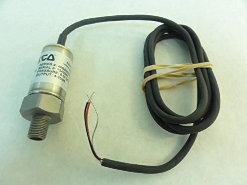 Asco 40B00025P4B0000 Pressure Sensor, 0-25PSI, 4-20mA by Asco