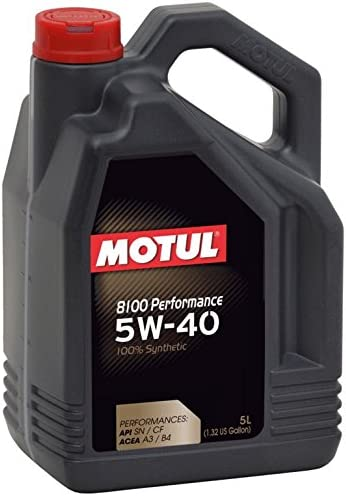 MOTUL 8100 Performance 5W40 5L: Amazon.es: Coche y moto