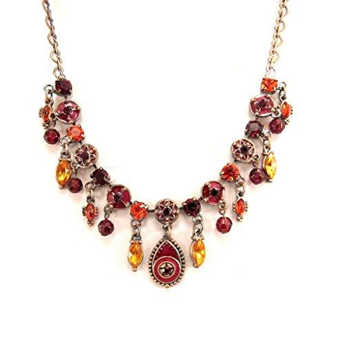 [Necklace 'Mulan' red rose.] (Mulan Costume Pattern)
