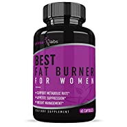 Best Fat Burner for Women (60 Capsules) :: Promotes Weight Loss :: Boost Metabolism :: Fight Food Cravings :: All-Natural Ingredients :: One Month Supply :: Prime Labs