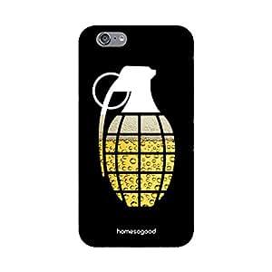 HomeSoGood Wine Grenade Black 3D Mobile Case For iPhone 6 (Back Cover)