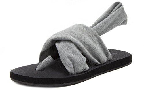 Image of Rampage Womens Rio Slingback Yoga Mat Sandal