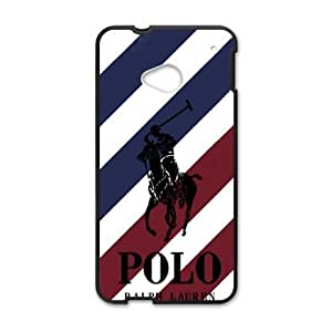 HTC One M7 case , Polo Logo HTC One M7 Cell phone case Black-YYTFG-18927