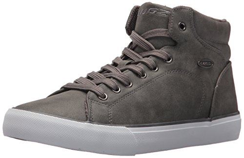 Lugz Men's King LX Sneaker, Dark Charcoal/White, 9 D US