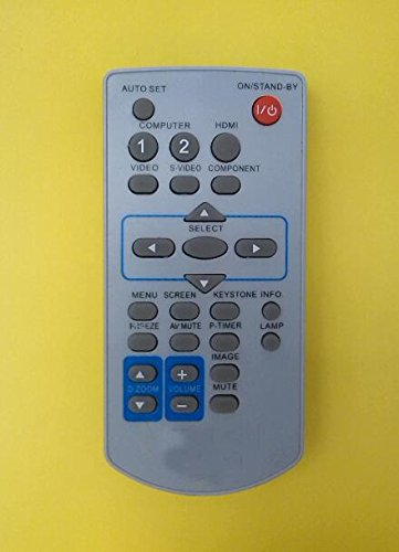 (TOP Quality Generic Universal Compatible Replacement Projector Remote Control Fit For Panasonic Projector PT-AE200 Brand New 250 Days Warranty by)