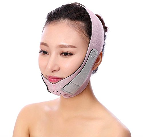 Double V Liner Lifting Chin Cheek Slim Lift Up Belt Strap Soft Band