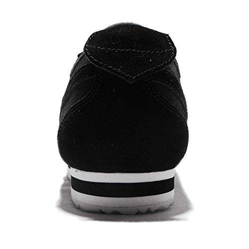 Zapatillas De Deporte Nike Hombres Cortez 72 Running - Negro / Blanco Negro / Negro-metálico Peltre-blanco