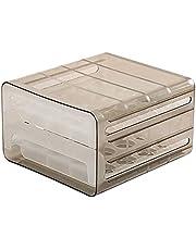 QiKun-Home 32 Lade Type Ei Opbergdoos Grote Capaciteit Dubbellaags Stapelbare Eierdoos Koelkast Keuken Opslag Transparant 24 x 21.5 x 14 cm