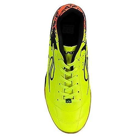 Chuteira Dalponte Contact Futsal Amarela  Amazon.com.br  Esportes e Aventura 40236c56d9aea