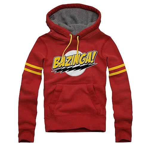 Big Bang Theory Bazinga! Hoodie (Large)