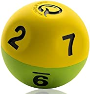 Qball Pro - Reaction Ball - World's Fastest Trainer! - Now Lighter - More Erratic - Moderate Erratic Bounc