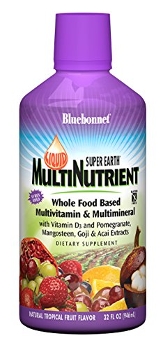 Bluebonnet Nutrition Liquid Super Earth® MultiNutrient Natural Tropical Fruit -- 32 fl oz