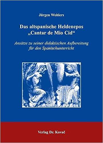 Book Das altspanische Heldenepos
