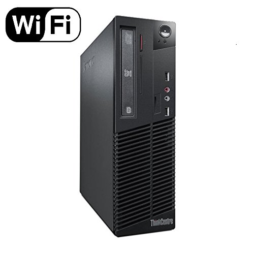2018 Lenovo ThinkCentre M73 SFF Small Form Factor Business Desktop Computer, Intel Dual-Core i3-4130 3.4GHz, 8GB RAM, 500GB HDD, USB 3.0, WiFi, DVD, Windows 10 Professional (Certified Refurbished)