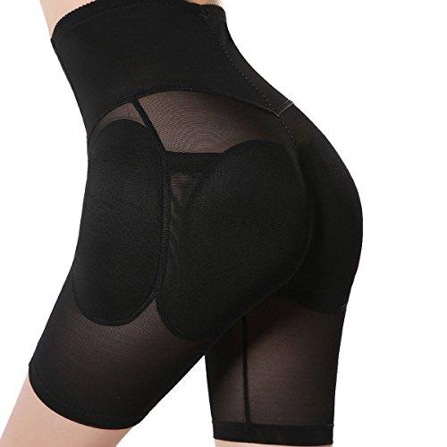 4efbc5e9a4 Shymay Women s Shapewear Butt Lifter Seamless High Waist Padded Panty Body  Shaper