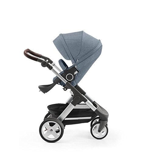 Stokke Trailz Stroller with Classic Wheels, Nordic Classic,