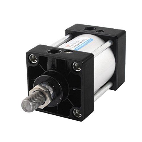 SC 63 mm x 25 mm vá stago simple de doble efecto neumá tico Mini Cilindro de Aire DealMux