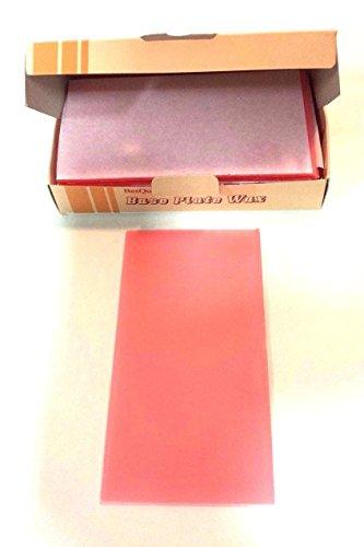 Meta BesQual Base Plate Pink Wax Extra Tough 1 LB. Dental Lab 165 X 90 mm #712