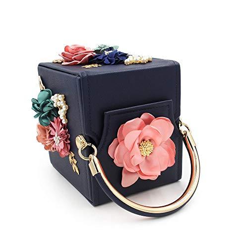 Quadrato Fiore La Per Con Confezione Sacchetto Ricamo Semplice Perla Tote 1 Fashion Per Cena Con FFLLAS xqCnY41ww