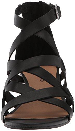 Lucky Brand Vrouwen Lk-jewelia Wedge Sandaal Zwart