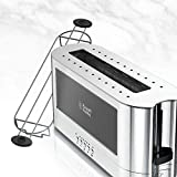 Russell Hobbs 2-Slice Glass Accent Long