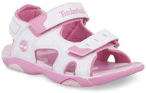 Timberland Sport Casual Sandal FTK RiverQuest Sandal 2 Strap 50976 - Sandalias para niños Blanco