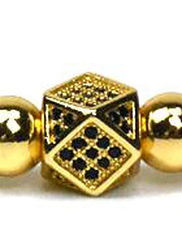 Jewelry Crown Charms Men Bracelet Macrame Beads Bracelets for Women Bracelet Male Female Bracelet