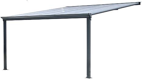 BST Outdoor Essentials - Cubierta para pérgola de Aluminio ...