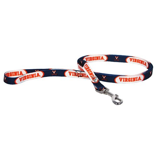 NCAA Virginia Cavaliers Pet Lead, Large, Team Color
