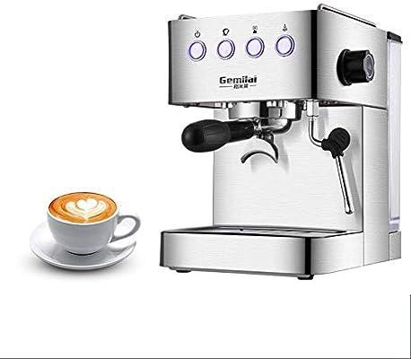 ماكينة قهوة إيطالية شبه أوتوماتيكية من نوع ضغط الحليب بالبخار من هاوس هولد Amazon Ae