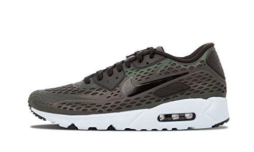Nike Mens Air Max 90 Ultra Moire Qs, Profondo Peltro / Nero-focena, 10,5 M Us