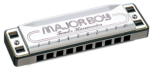 Tombo Minorboy Key of G-Minor 10-hole Harmonica
