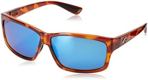 Costa del Mar Cut Polarized Iridium Rectangular Sunglasses