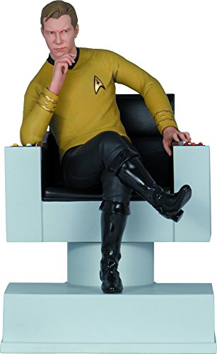 Star Trek Icons Captain Kirk - Icon Heroes Star Trek: The Original Series: Captain Kirk Statue Bookend