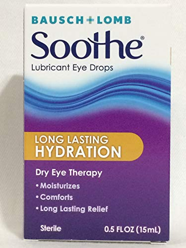 Bausch + Lomb Soothe Long Lasting Lubricant Eye Drops 0.5 oz - Lomb Soothe Bausch
