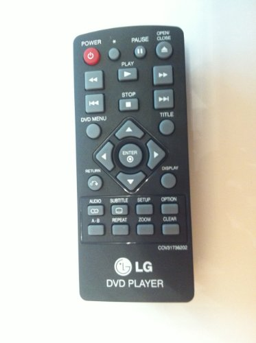 New LG brand DVD remote control for all LG Brand DVD Player,
