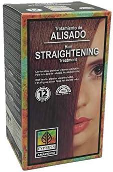Alisado Brasileño con Keratina, sin formol. Kit Cypress Amazonia. 275 ml
