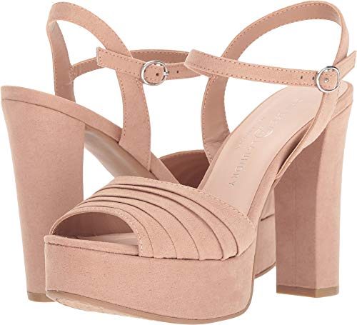 Chinese Laundry Women's Allie Dark Nude Microsuede 7 M US M