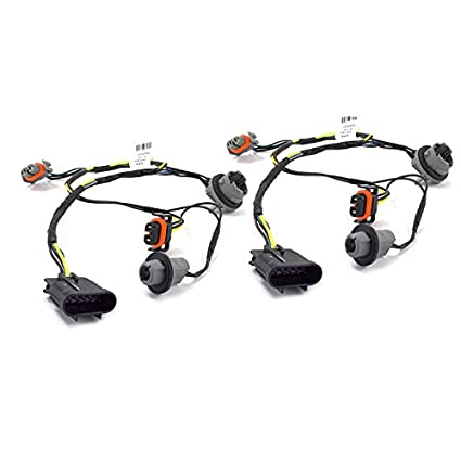 Amazon.com: OEM Head Light Socket Wiring Harness Front Right ... on