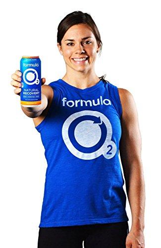 Formula O2 Natural Recovery Drink   Oxygen + Electrolytes + Caffeine   Orange Mango Flavor (12-pack)
