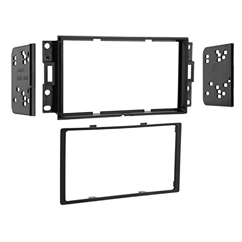 Metra 95-3527 Double DIN Installation Dash Kit for 2004-up Pontiac Grand Prix Vehicles (Black)
