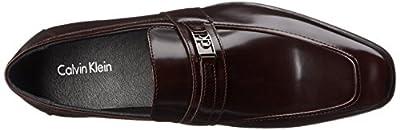 Calvin Klein Men's Bartley Brush Off Smooth Slip-On Loafer