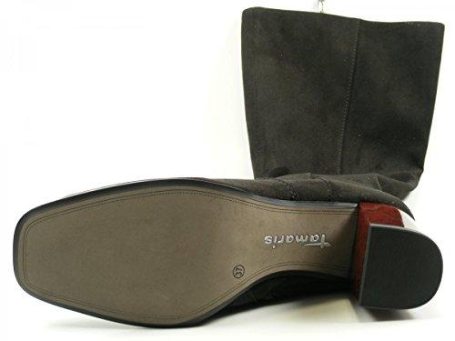 Tamaris 1-25517-27 Schuhe Damen Stiefel Stiefeletten Ankle Boots Schwarz