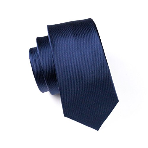 Tie N Dark Men's CAOFENVOO Cufflinks Blue Hanky Silk 0770 Set q8RI8ZwSUA