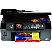 Epson WorkForce 500 All-in-One Printer (Black) (C11CA40201)
