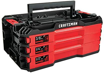 CRAFTSMAN Mechanics Tools Kit with 3 Drawer Box, 216-Piece CMMT99206